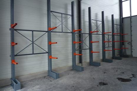 Cantilever lourd peint pour usage intérieur