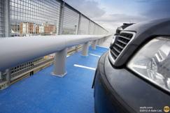Glissières de parking
