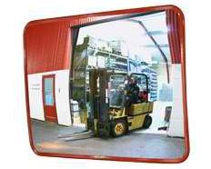 Miroir de sécurité pour entrepôts industriels
