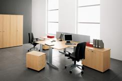 Exemple de mobilier de bureau