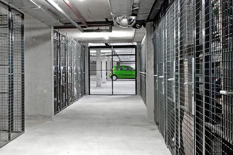 Cloisons grillagées pour parking souterrain et cave