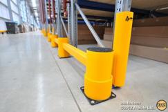 Protections latérales pour racks à palettes, palettiers et rayonnages