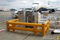 Protections extérieures sur un aéroport