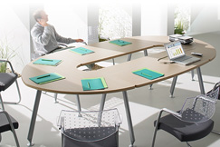 Exemple d'une table de réunion